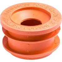 Gumminippel 75-70/50-40 orange, Faluplast